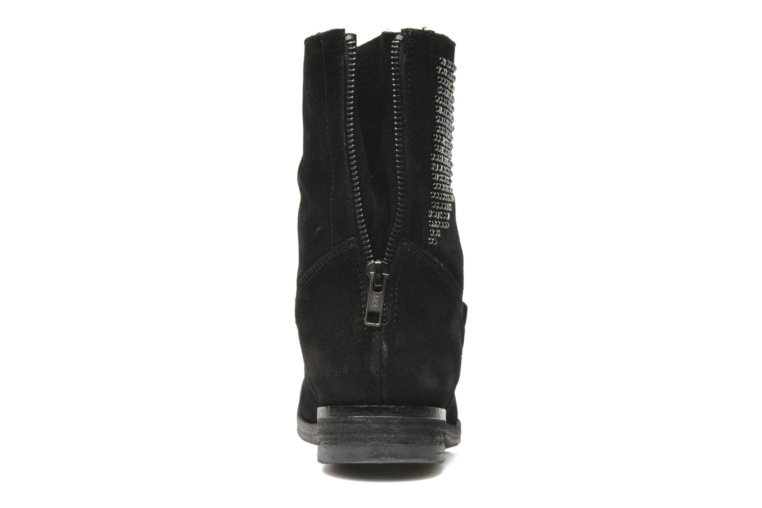 Ankle boots Khrio Cuma Black view from the right