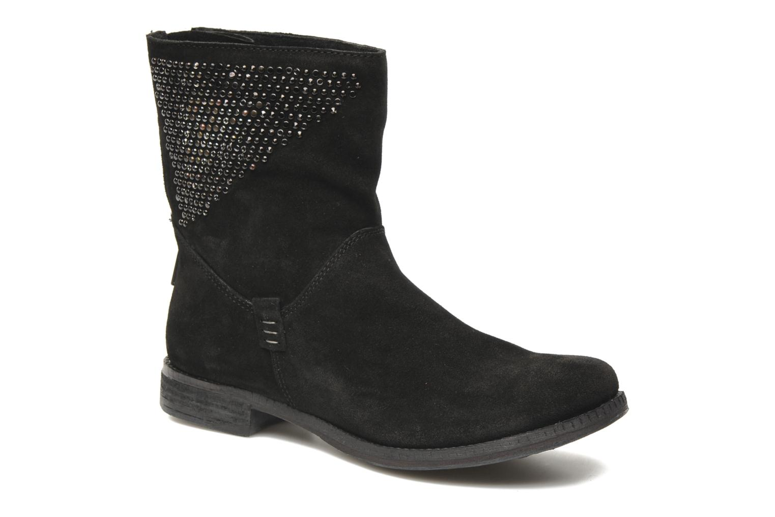 Ankle boots Khrio Cuma Black detailed view/ Pair view