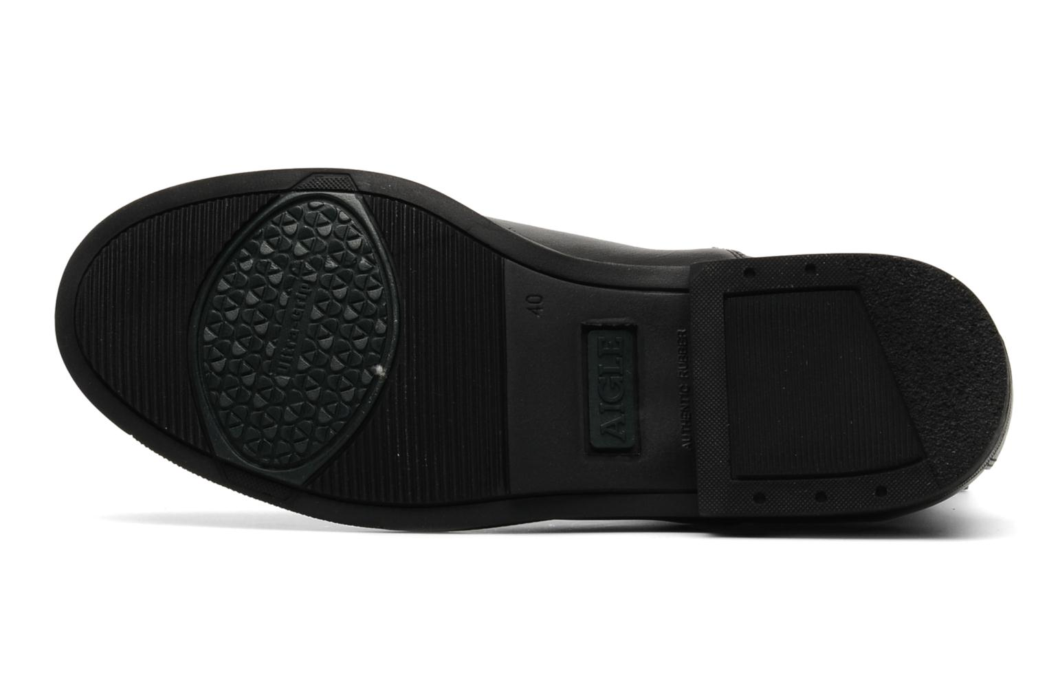 Sport shoes Aigle Orzac M Black view from above