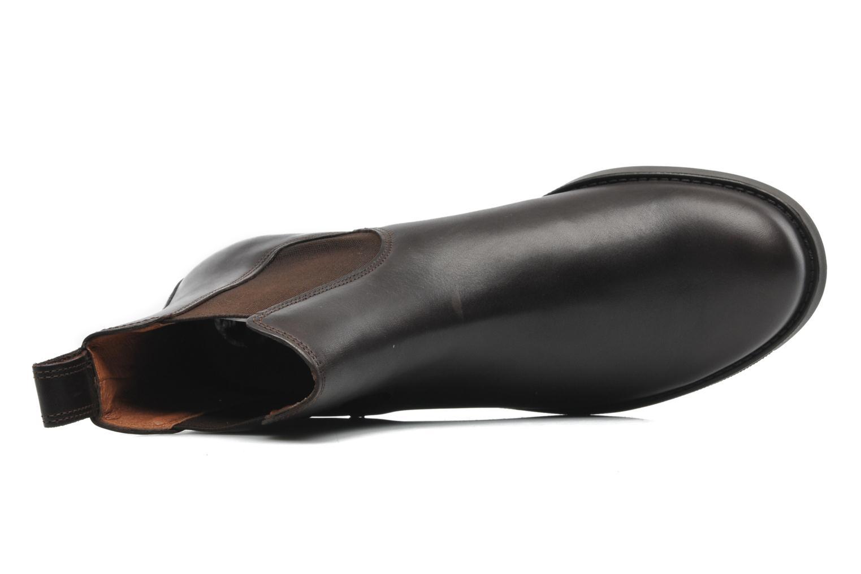 Chaussures de sport Aigle Orzac M Marron vue gauche