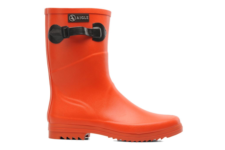 Bottines et boots Aigle Chanteboot Pop Orange vue derrière