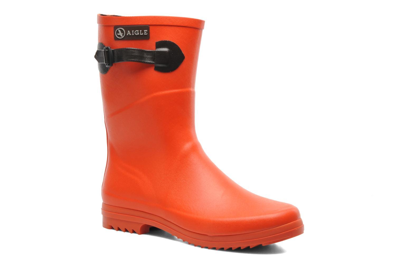 Bottines et boots Aigle Chanteboot Pop Orange vue détail/paire