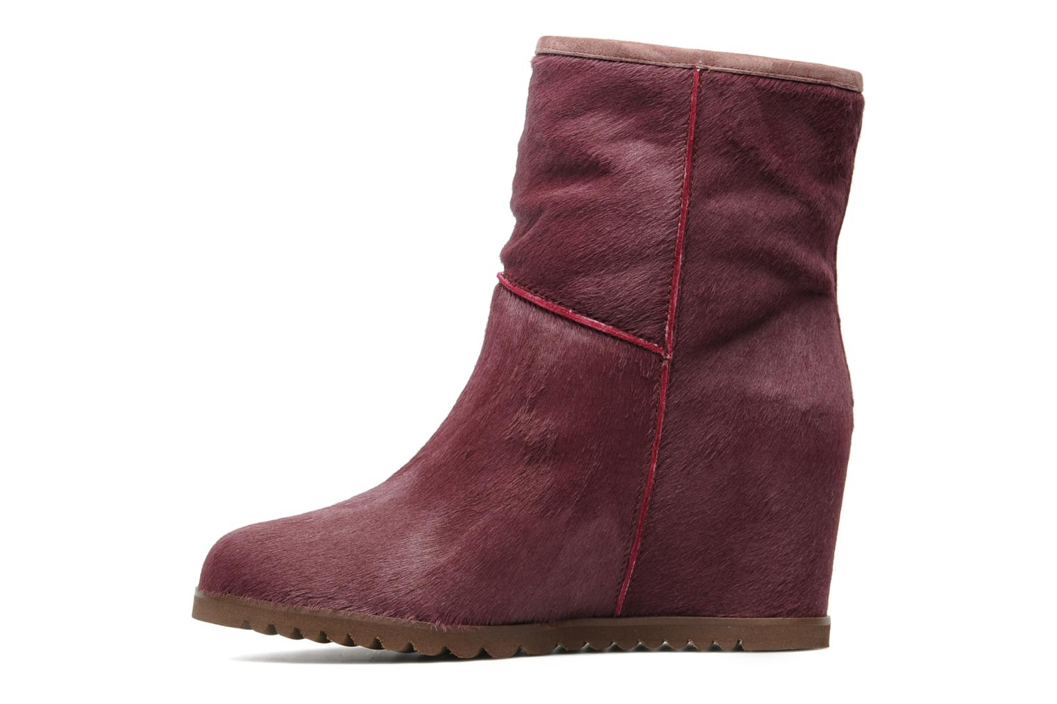 Ankle boots Fabio Rusconi Marta Burgundy front view