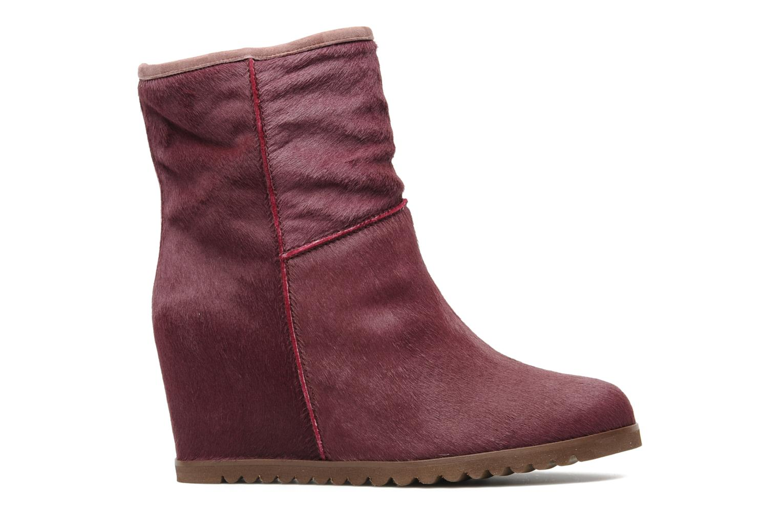 Ankle boots Fabio Rusconi Marta Burgundy back view