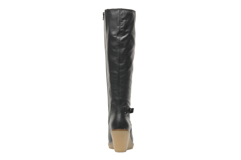 Bottes U.S Polo Assn. Flaminia leather Noir vue droite