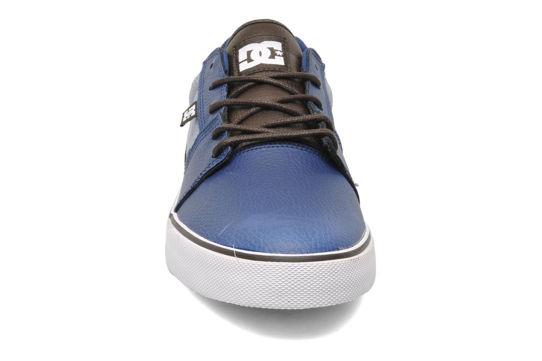 Chaussures de sport DC Shoes Tonik XE Bleu vue portées chaussures