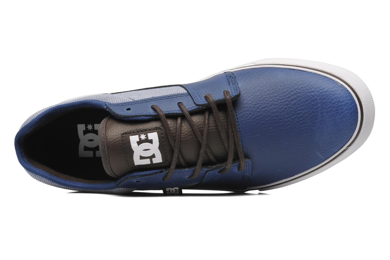 Chaussures de sport DC Shoes Tonik XE Bleu vue gauche