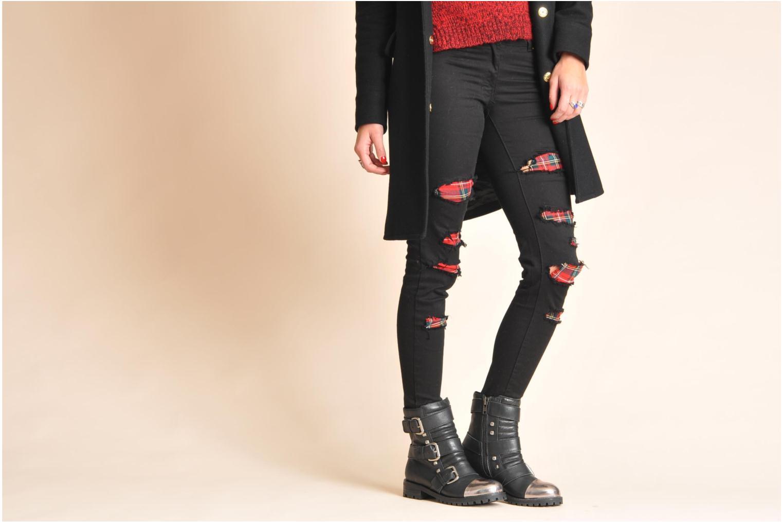 Stiefeletten & Boots Shellys London Pistekova schwarz ansicht von unten / tasche getragen
