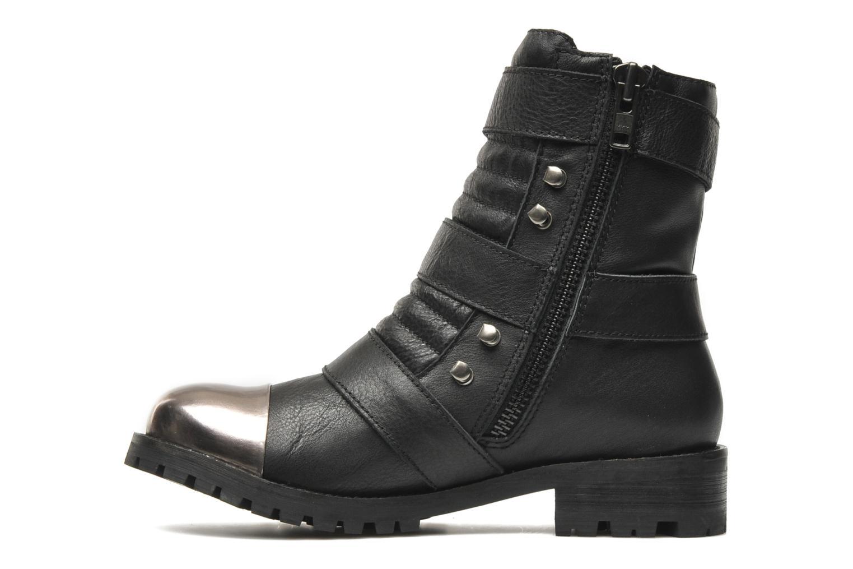 Boots en enkellaarsjes Shellys London Pistekova Zwart voorkant