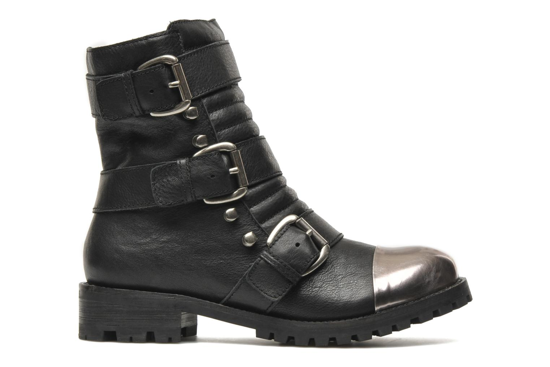 Boots en enkellaarsjes Shellys London Pistekova Zwart achterkant