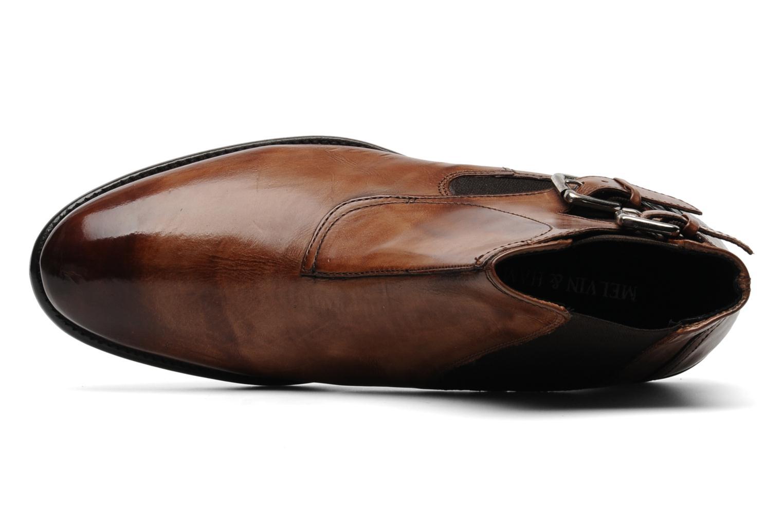 Boots en enkellaarsjes Melvin & Hamilton Malcom 8 Bruin links