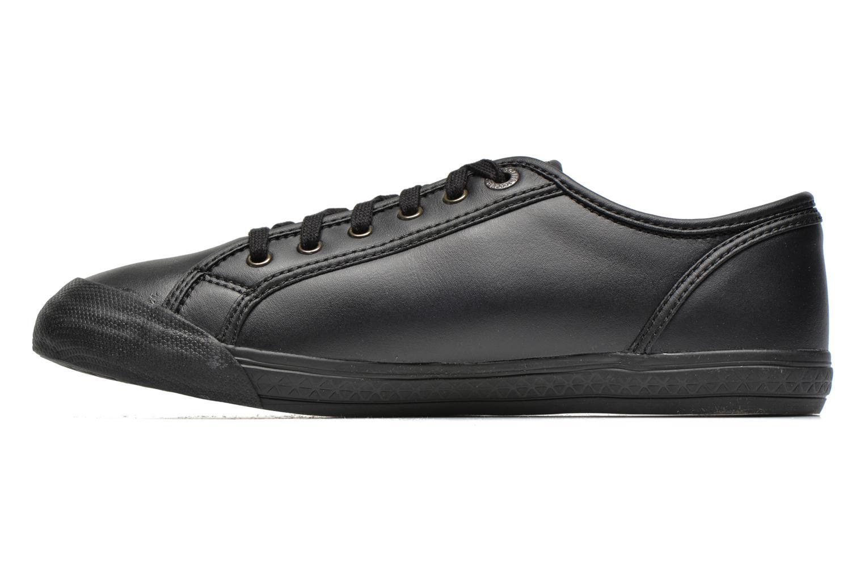 Sneakers Le Coq Sportif Deauville Plus Lea Zwart voorkant