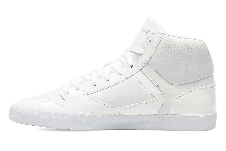 Baskets Le Coq Sportif Peletier Glam M Blanc vue face