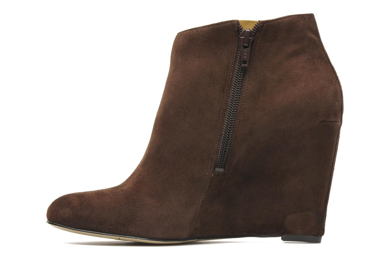 Boots en enkellaarsjes Nine West Nwriguma Bruin voorkant