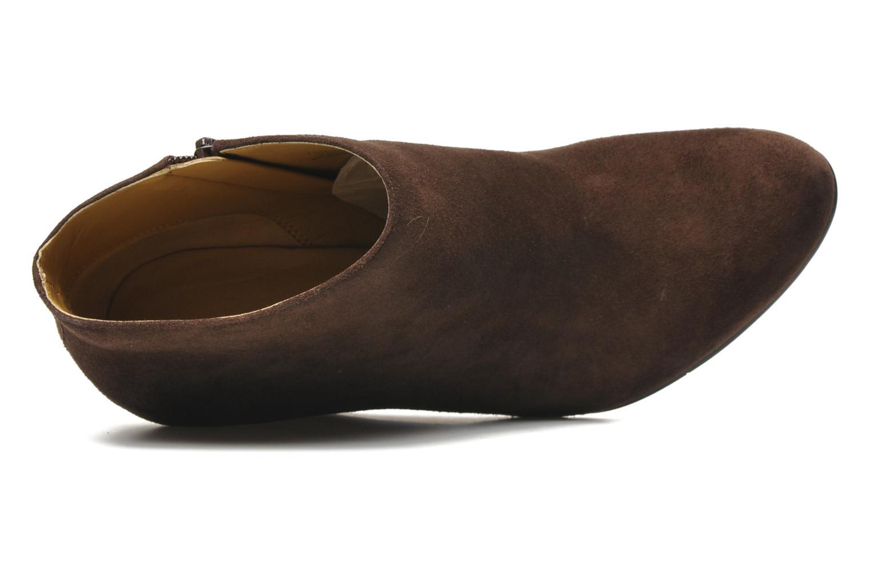 Bottines et boots Nine West Nwriguma Marron vue gauche