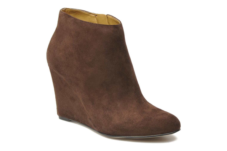 Boots en enkellaarsjes Nine West Nwriguma Bruin detail