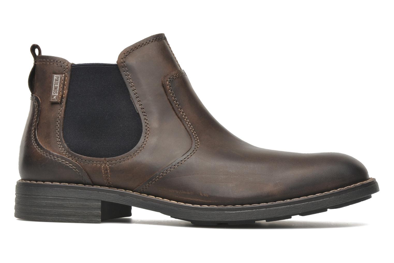 Boots en enkellaarsjes Pikolinos Pamplona 03Q-6466 Bruin achterkant