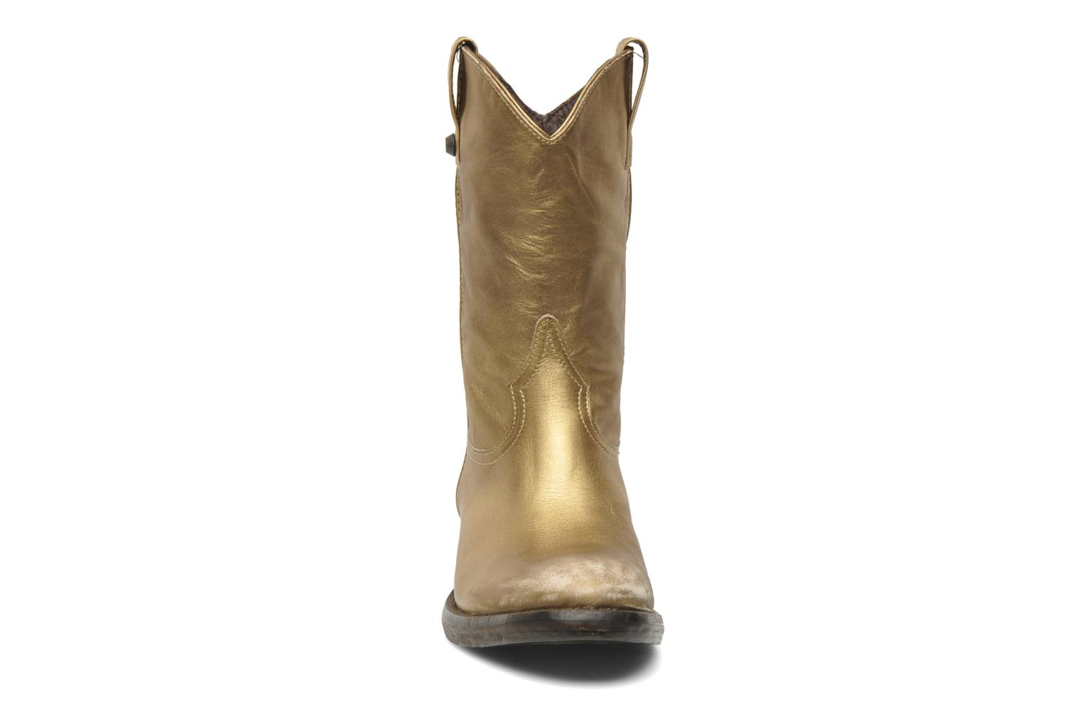 Ankle boots Catarina Martins Vendit LE2026L Bronze and Gold model view