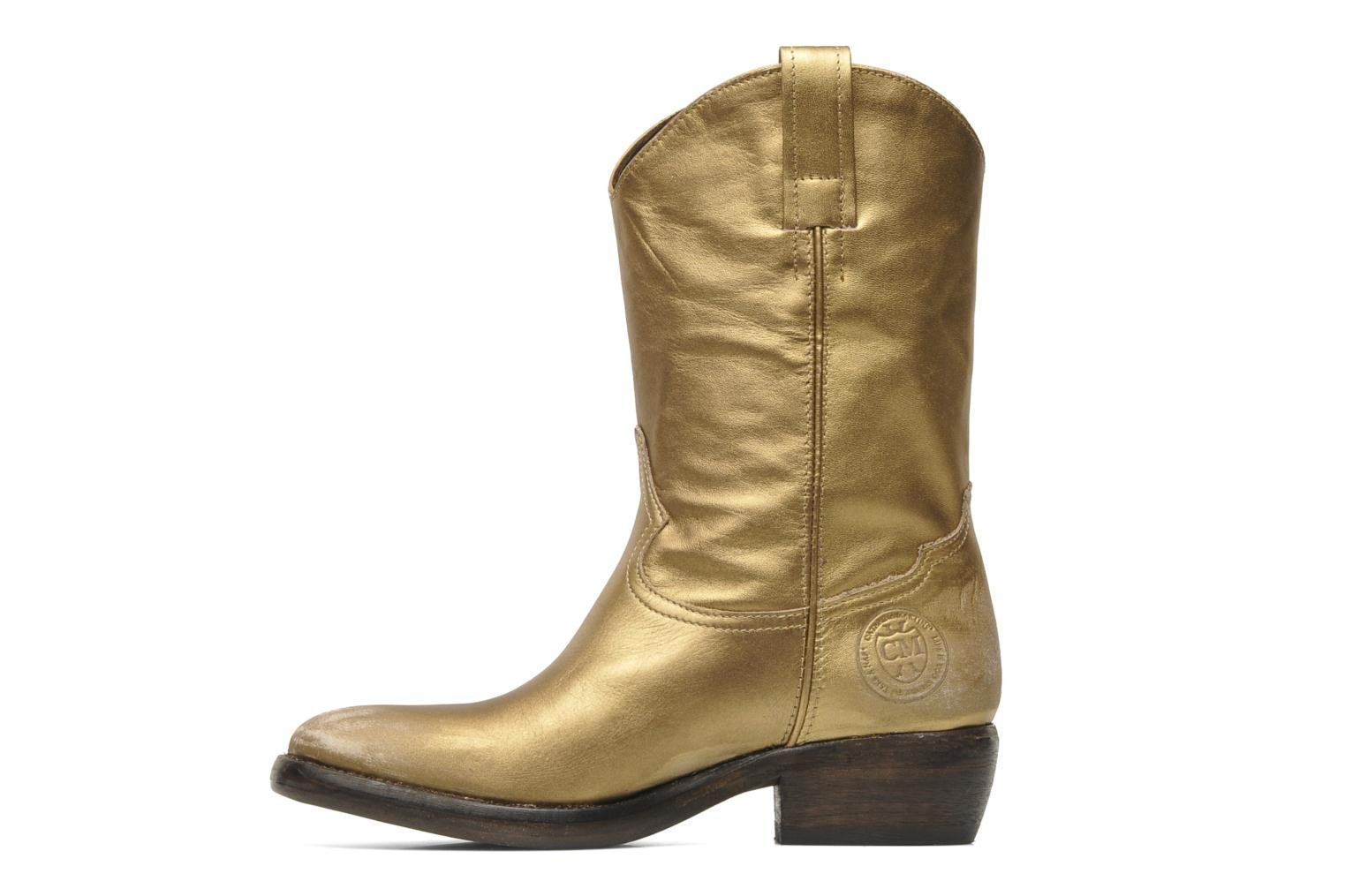 Ankle boots Catarina Martins Vendit LE2026L Bronze and Gold front view