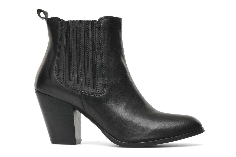 Boots en enkellaarsjes Addict-Initial Cache-cœur Zwart achterkant