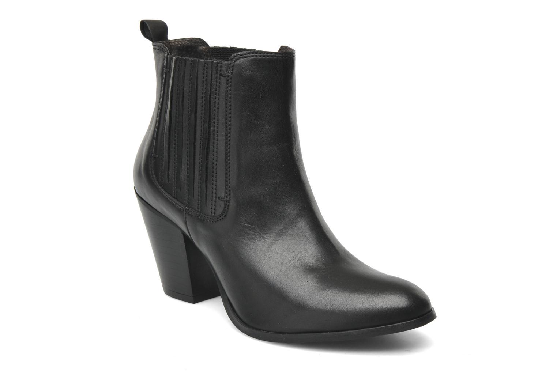 Boots en enkellaarsjes Addict-Initial Cache-cœur Zwart detail