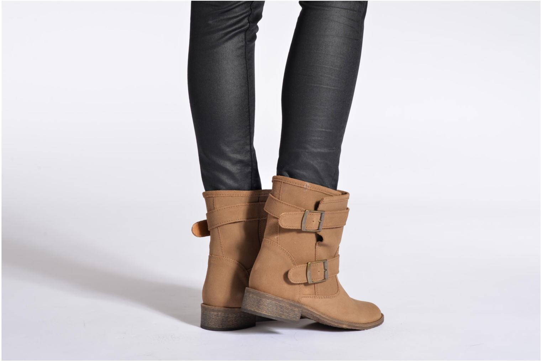 Stiefeletten & Boots Addict-Initial Chasuble schwarz ansicht von unten / tasche getragen