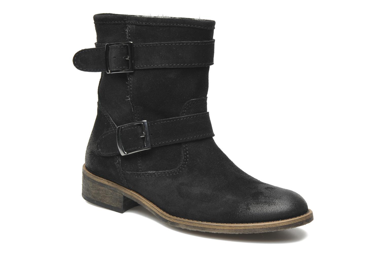 Boots en enkellaarsjes Addict-Initial Chasuble Zwart detail