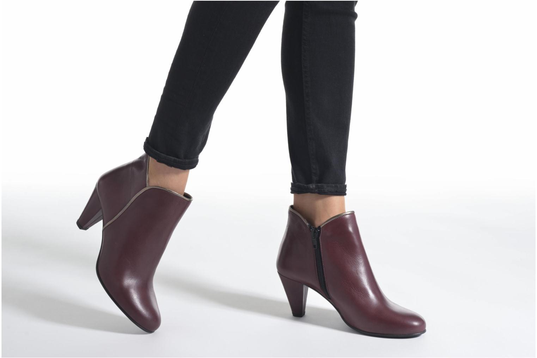Bottines et boots Georgia Rose Lagopède Noir vue bas / vue portée sac