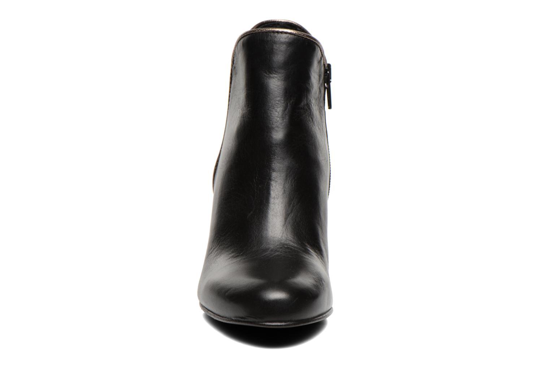Bottines et boots Georgia Rose Lagopède Noir vue portées chaussures