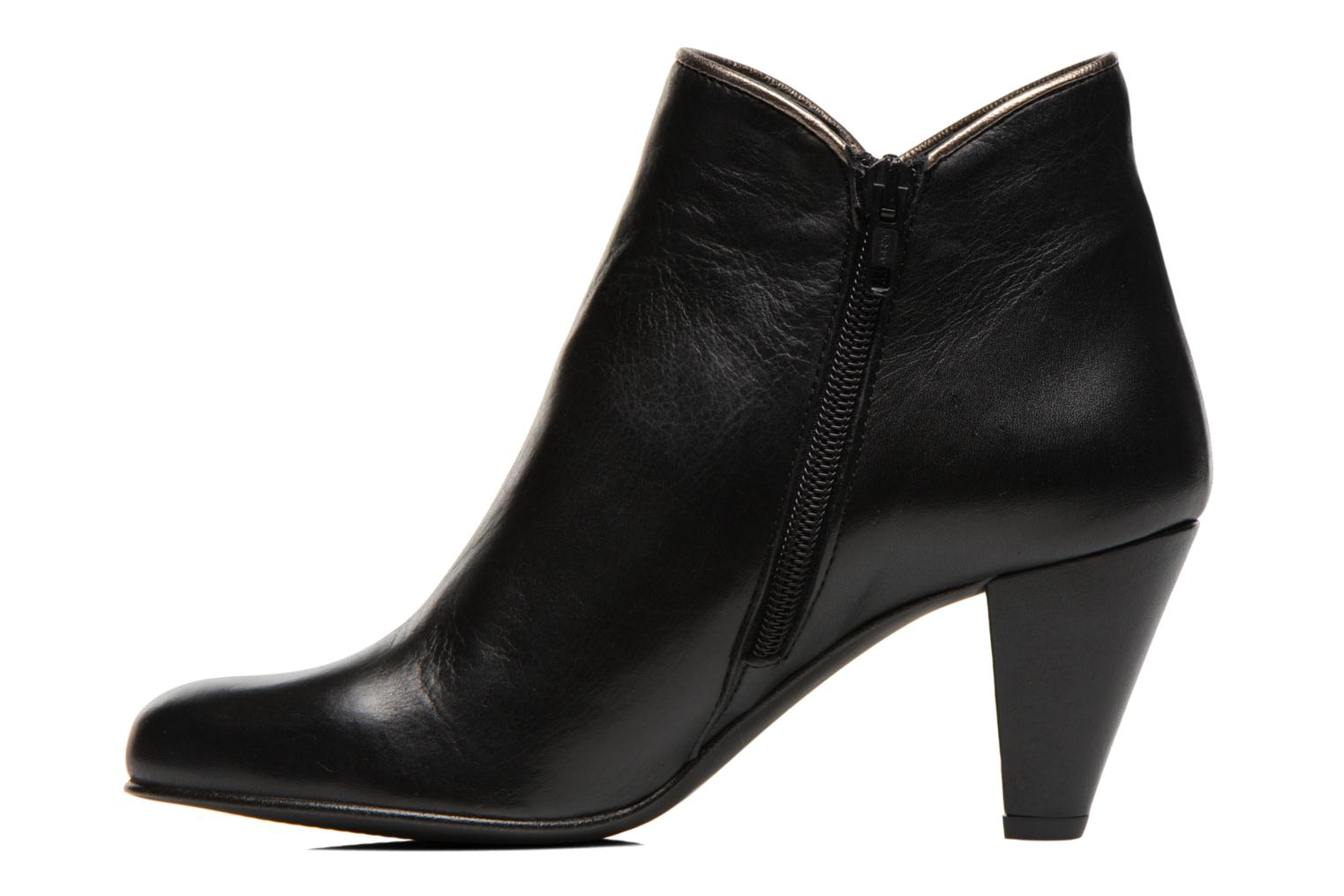 Ankle boots Georgia Rose Lagopède Black front view