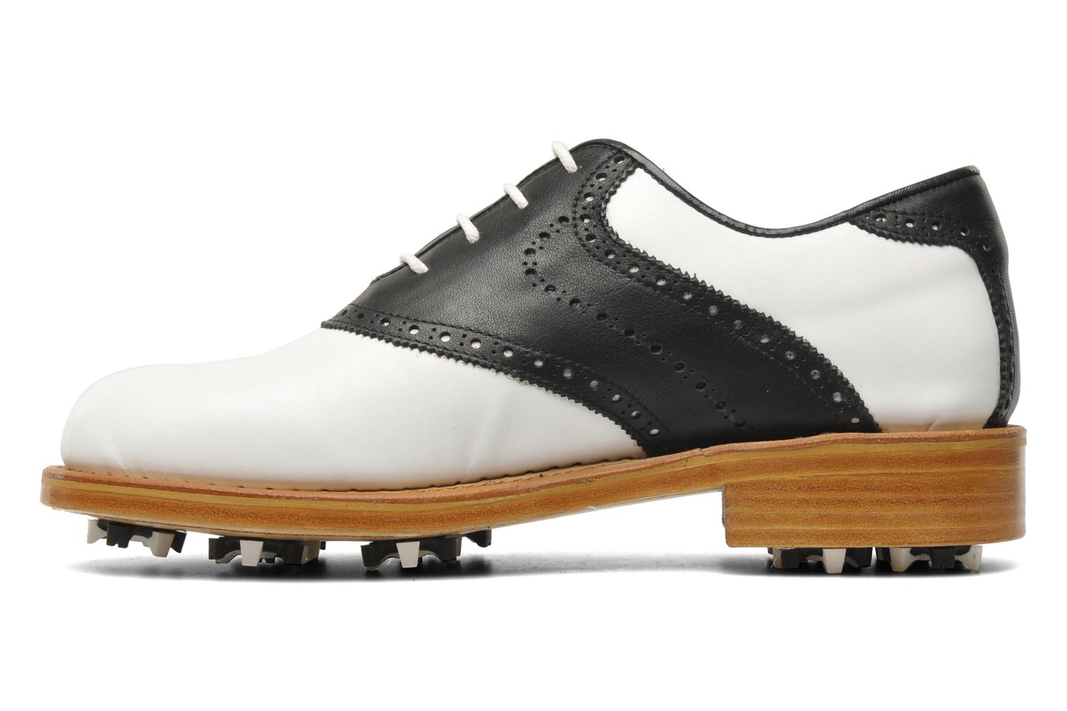 Sport shoes Georgia Rose Golfy Black front view