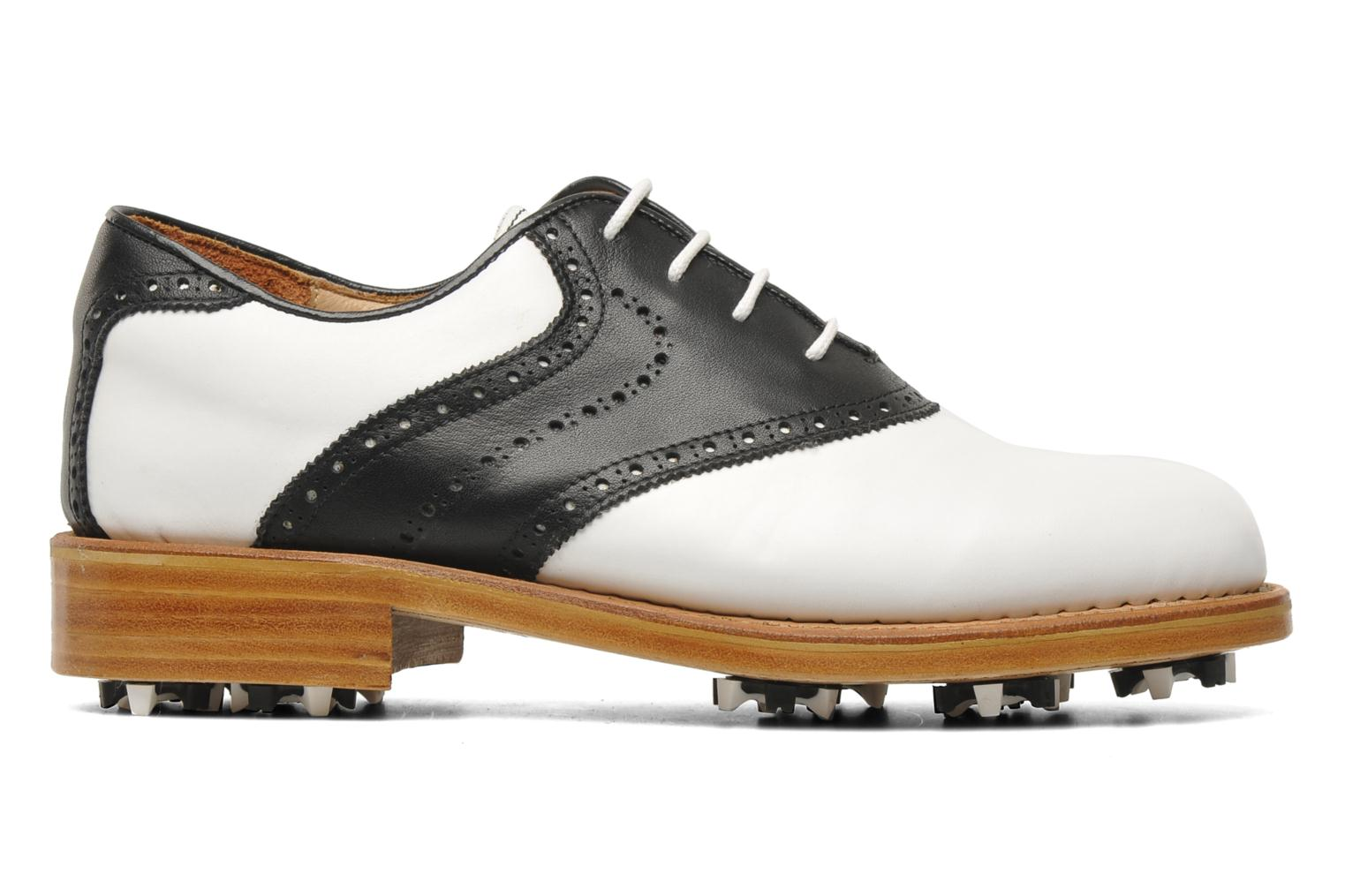 Sport shoes Georgia Rose Golfy Black back view