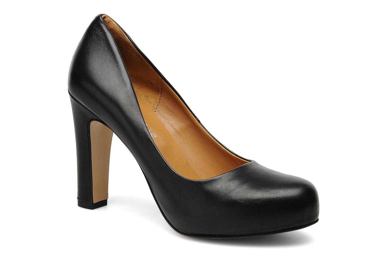High heels Georgia Rose Benicia Black detailed view/ Pair view