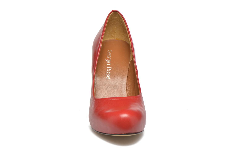 Escarpins Georgia Rose Benicia Rouge vue portées chaussures