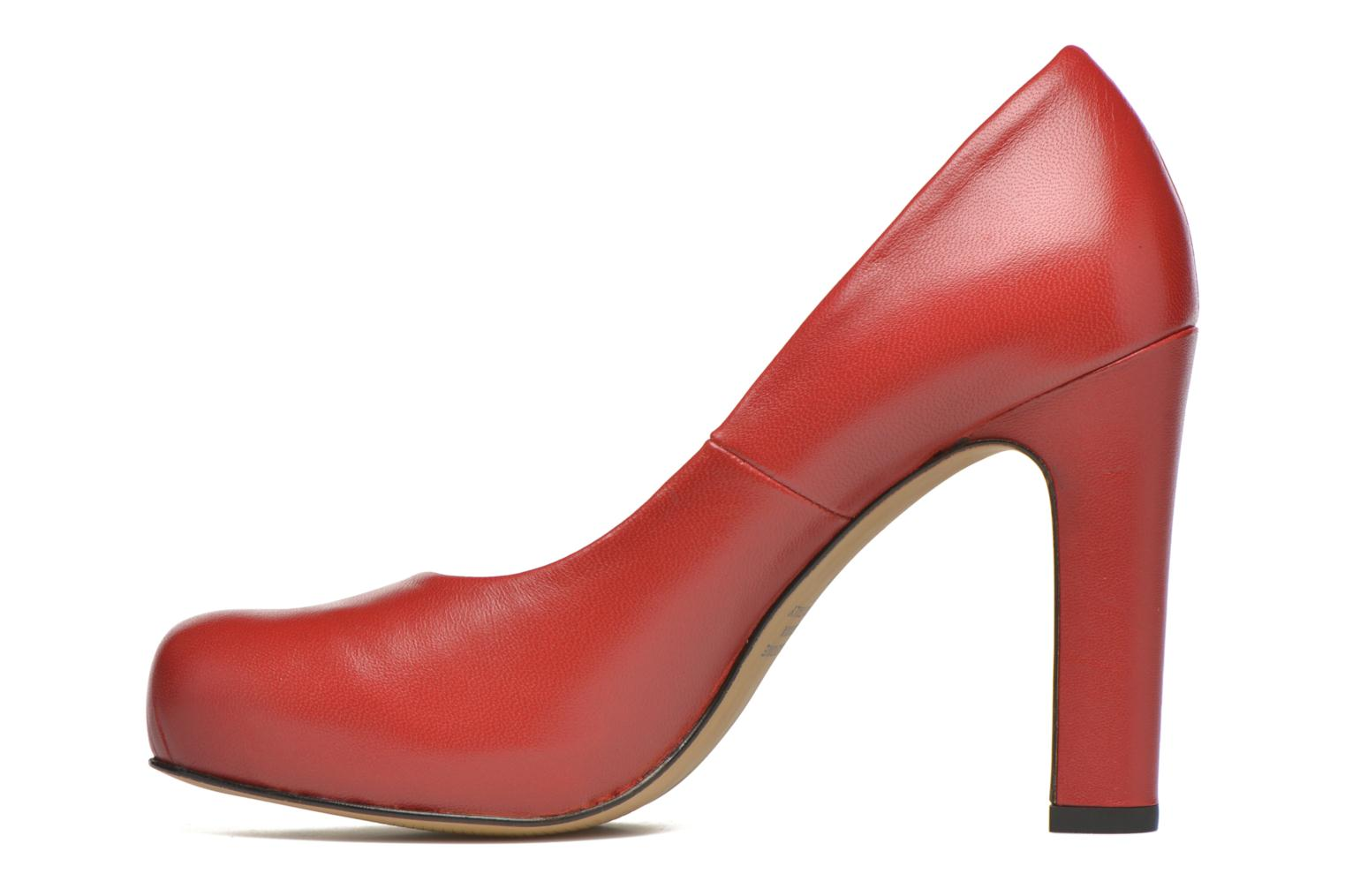 High heels Georgia Rose Benicia Red front view