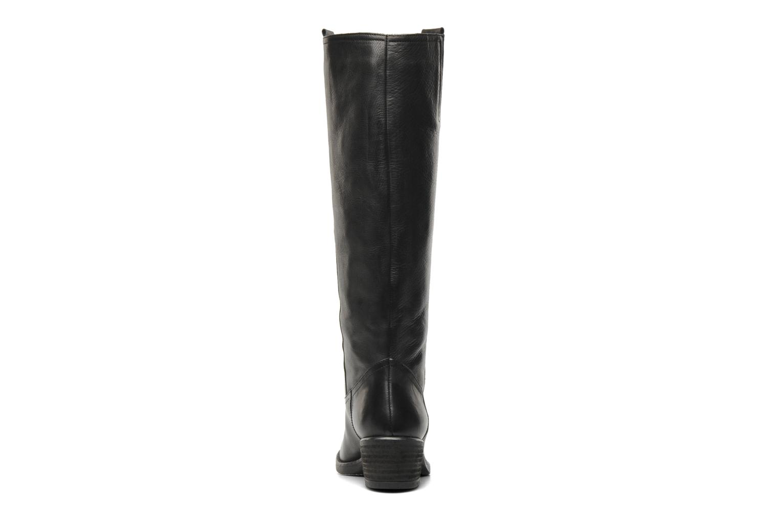 Boots & wellies Georgia Rose Caramel Black view from the right