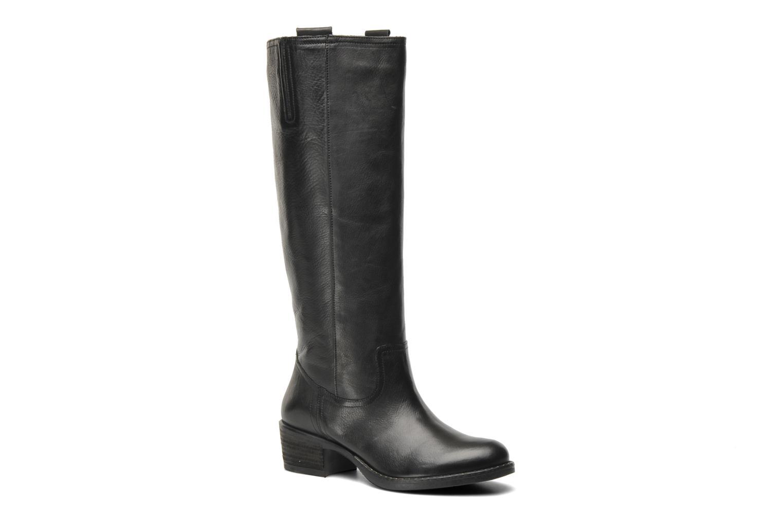 Boots & wellies Georgia Rose Caramel Black detailed view/ Pair view