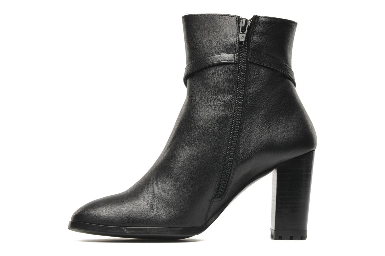 Bottines et boots Georgia Rose Escalier CFT Noir vue face