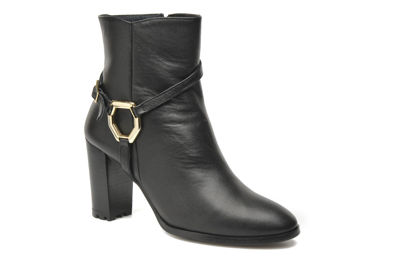 Bottines et boots Georgia Rose Escalier CFT Noir vue détail/paire