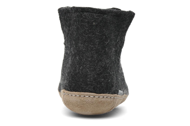 Pantoffels Glerups Poras W Zwart rechts