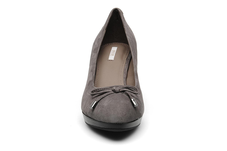 Escarpins Geox D MAR.MID.PL.D Gris vue portées chaussures