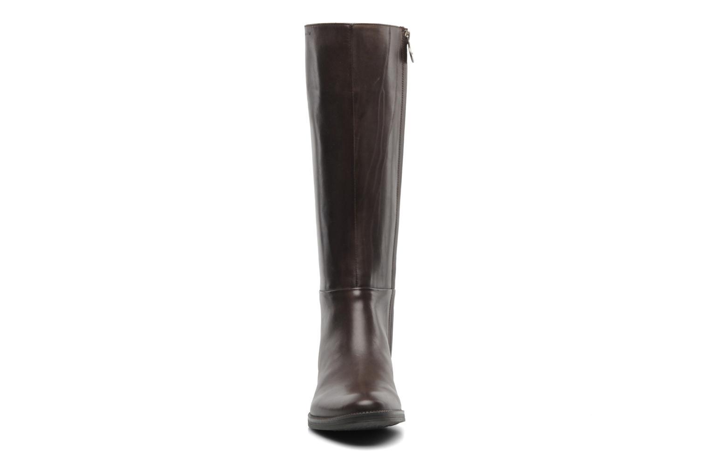 Boots & wellies Geox D MENDI ST P D3490P Brown model view