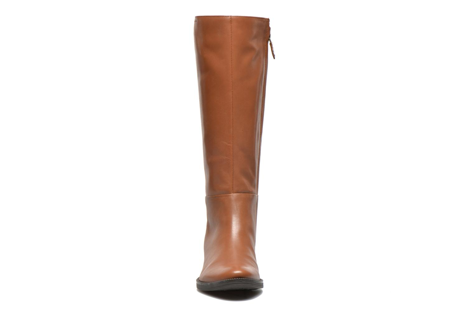 Boots & wellies Geox D MENDI ST P D3490P Brown model view