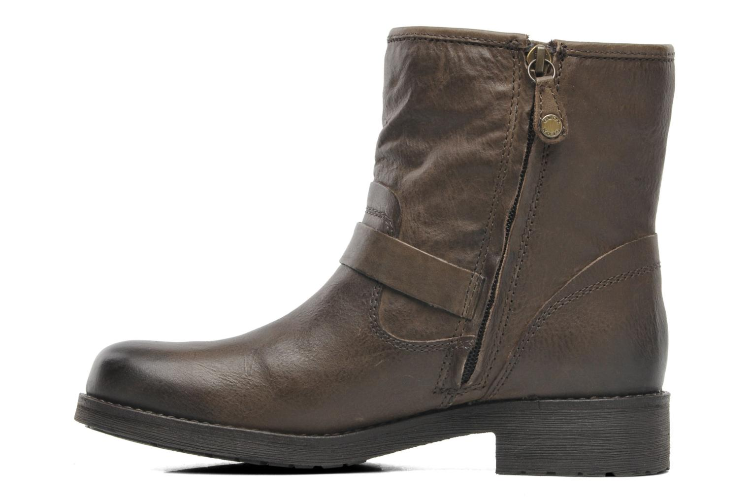 Bottines et boots Geox D NEWVIRNA E Marron vue face