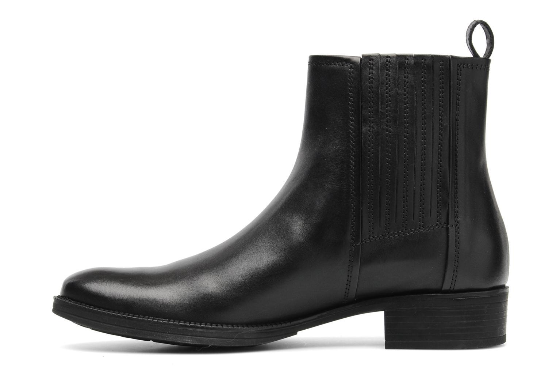 Stiefeletten & Boots Geox D MENDI ST J D3490J schwarz ansicht von vorne