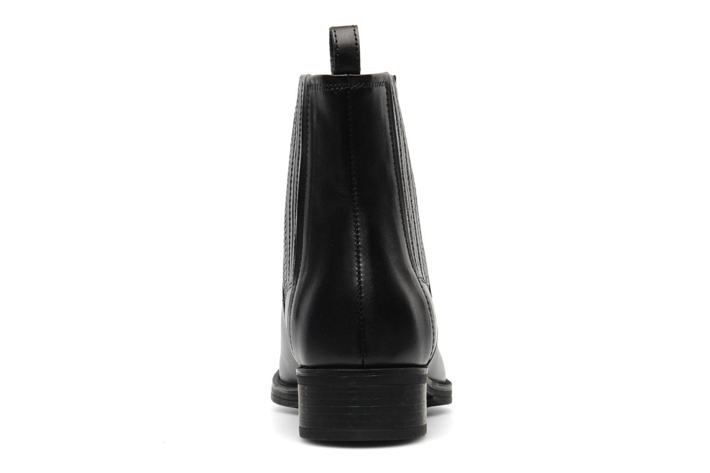 Stiefeletten & Boots Geox D MENDI ST J D3490J schwarz ansicht von rechts