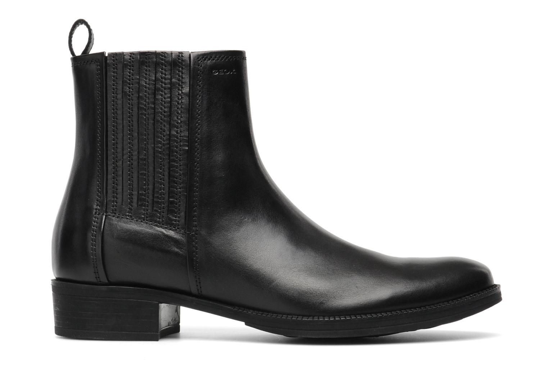 Stiefeletten & Boots Geox D MENDI ST J D3490J schwarz ansicht von hinten