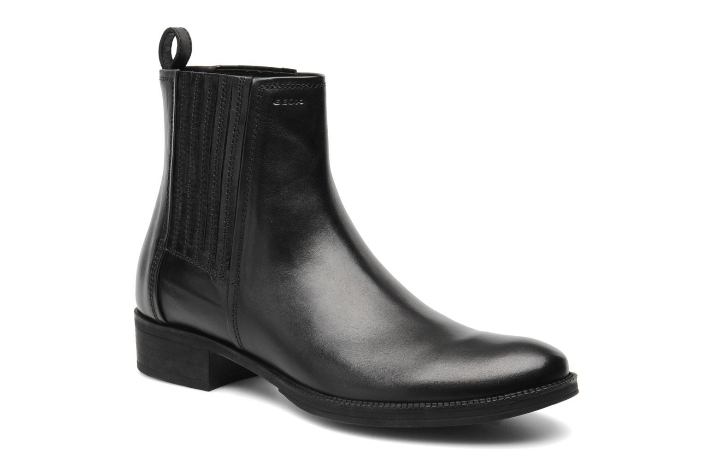 Stiefeletten & Boots Geox D MENDI ST J D3490J schwarz detaillierte ansicht/modell
