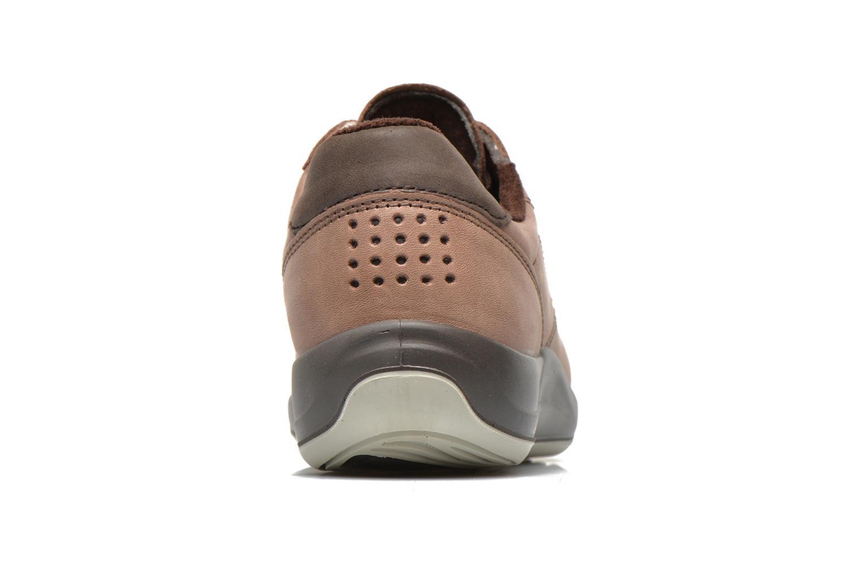 Sneaker TBS Easy Walk Anyway braun ansicht von rechts
