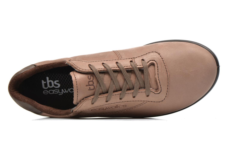 Sneaker TBS Easy Walk Anyway braun ansicht von links